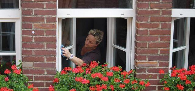 Schluss mit Schlieren und schmieren beim Fensterputz!