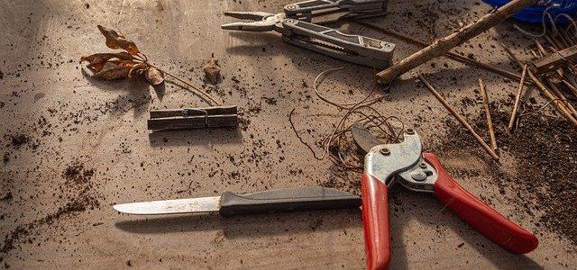 Was kann ich tun wenn meine Gartenschere rostet